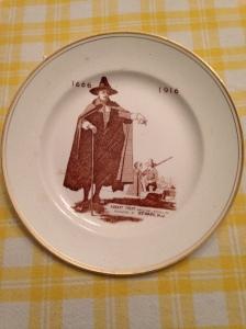 1916 Anniversary Commemorative Plate