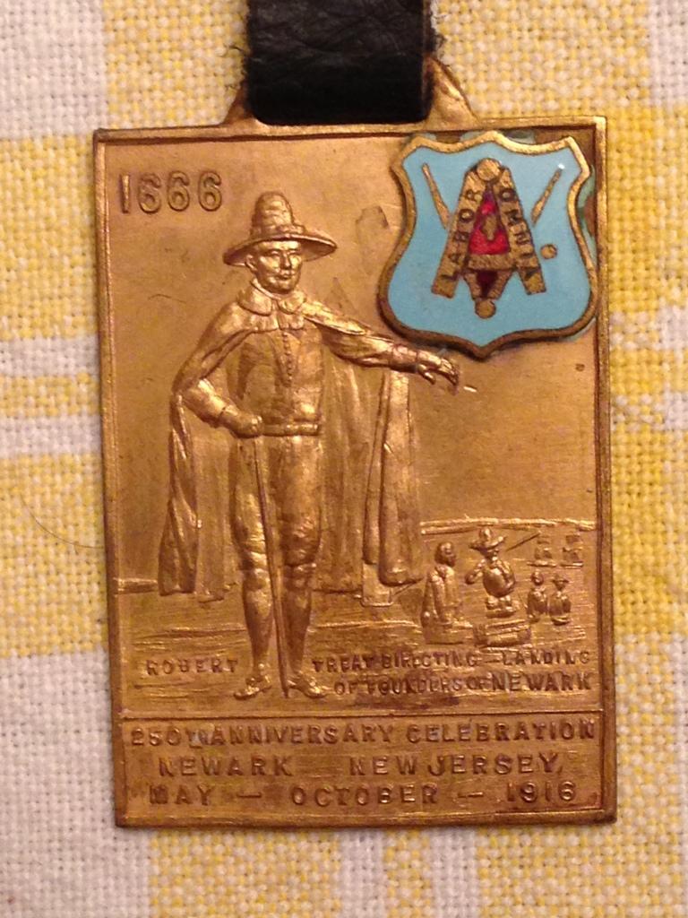 1916 Anniversary Fob