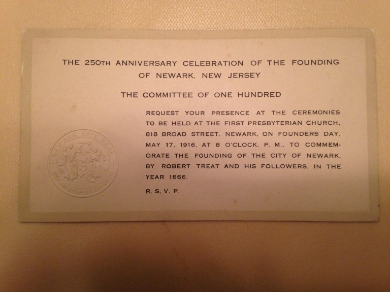 250 anniversary invite