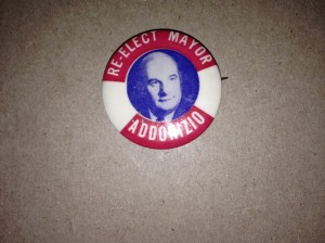 Addonizio Re-election Button
