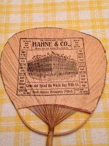 Hahne's Japanese Fan