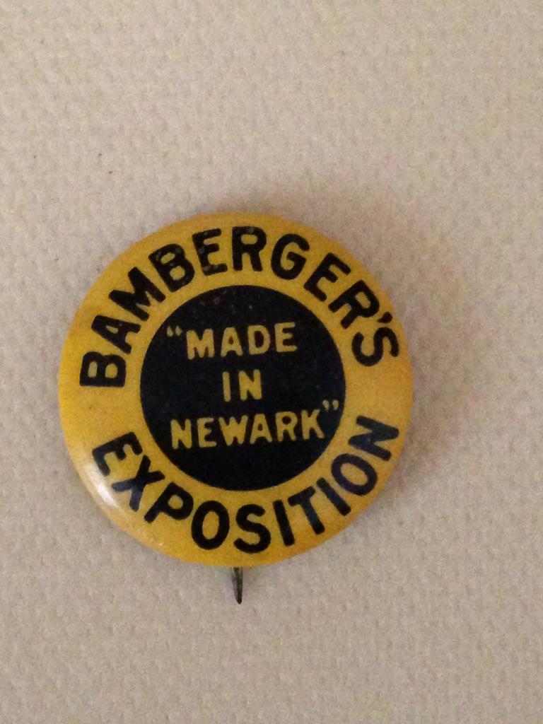 Made in Newark Button