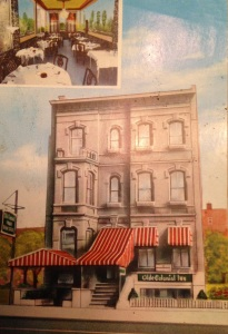 "Olde Colonial Inn located at 1074 Broad Street. ""Italian food at its best""."