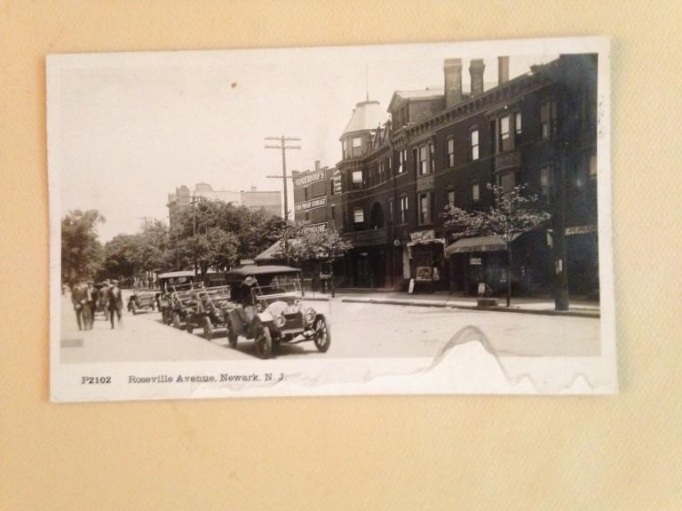 Roseville Avenue circa 1917
